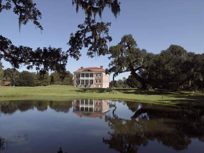 Drayton Hall Plantation, Charleston, South Carolina.